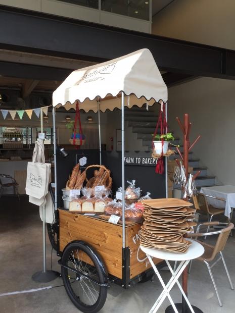 muse osakaに直営店の福島で人気のbakery「foodscape!」がPop up Shopとして期間限定でOPEN!
